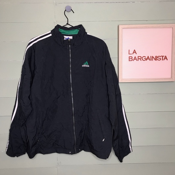 90's Vintage Adidas Windbreaker Jacket
